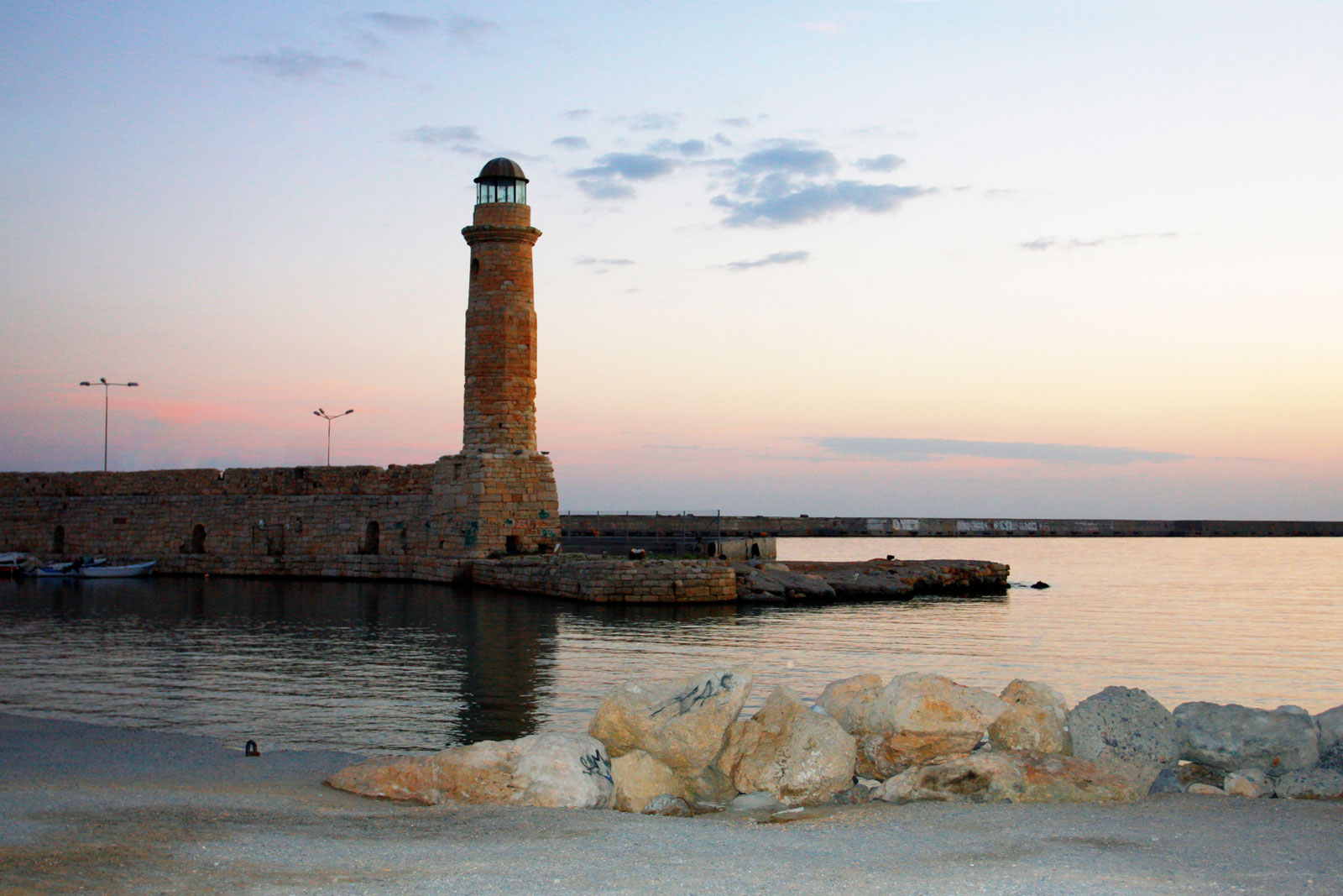 Sunrise In Rethymnon, Crete, Greece